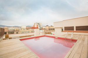 The swimming pool at or near Yeah Barcelona Hostel