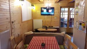 Restaurace v ubytování Chalupa JANINA