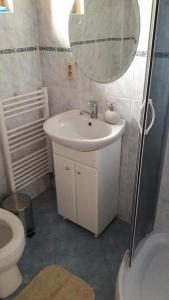 Koupelna v ubytování Chalupa JANINA