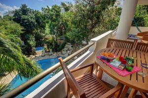 Балкон или терраса в Riviera Maya Suites