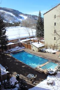 Vail International Condominiums during the winter