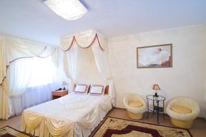Кровать или кровати в номере Прага