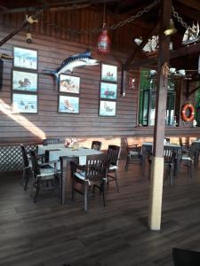 Ресторант или друго място за хранене в Hotel Sveti Nikola