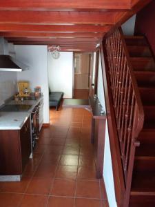 A kitchen or kitchenette at Casa Lola