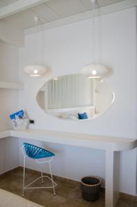 A bathroom at Hotel Katerina