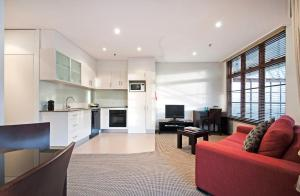 A kitchen or kitchenette at Quest Canberra