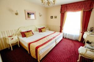 Кровать или кровати в номере Отель O'Хара