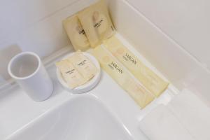 Ванная комната в Hotel Palma