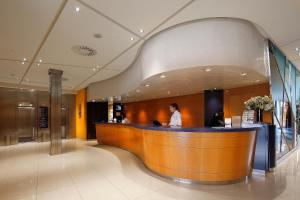 The lobby or reception area at HCC Montblanc