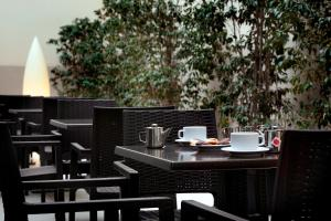 A restaurant or other place to eat at HCC Lugano