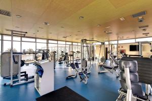 The fitness center and/or fitness facilities at Barceló Castillo Beach Resort