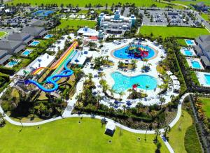 A bird's-eye view of Encore Resort 1152 8 Bedroom Water Park