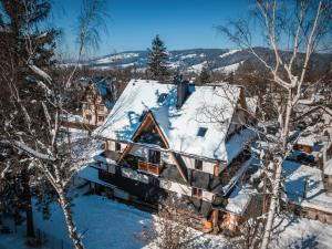 Obiekt Villa Kaplowa Chata & SPA zimą