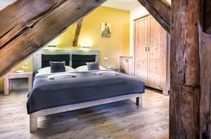 Postel nebo postele na pokoji v ubytování Pension Athanor