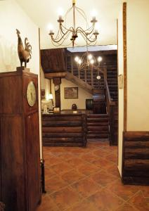 The lobby or reception area at Momini Dvori Boutique Guest House