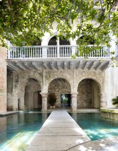 The swimming pool at or near Casa Pombo