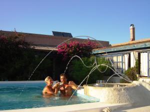The swimming pool at or near Agriturismo La Dolce Vita Lipari