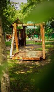 Children's play area at Дача Dacha