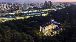 A bird's-eye view of Palácio Tangará - an Oetker Collection Hotel