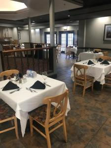 A restaurant or other place to eat at Millennium Durham