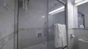 A bathroom at Congress Plaza Hotel Chicago