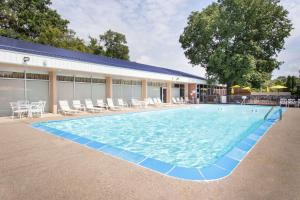 The swimming pool at or near Days Inn by Wyndham Dubuque