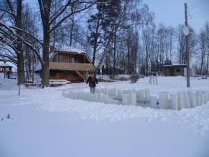 Rūši during the winter