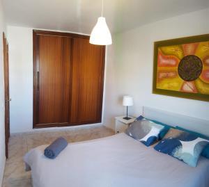 A bed or beds in a room at El Hierro