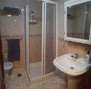 A bathroom at El Hierro