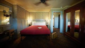Säng eller sängar i ett rum på The Jane Hotel