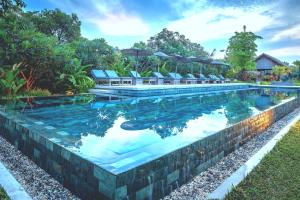 The swimming pool at or near Sala Lodges