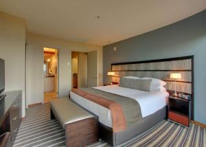 A bed or beds in a room at Hyatt Carmel Highlands