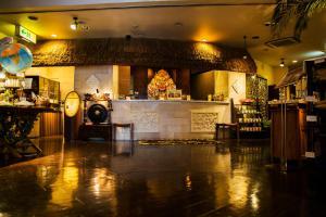 The lobby or reception area at Hotel Balian Resort Tomei Kawasaki I.C.