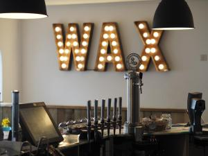 A restaurant or other place to eat at Wax, Watergate