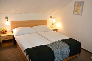 Letto o letti in una camera di Wellness Vila Bohemia