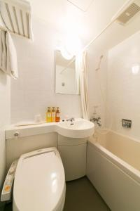 ห้องน้ำของ Hotel A'bant Shizuoka