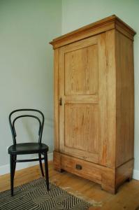 Ein Sitzbereich in der Unterkunft SCHÖNER WOHNEN IM DENKMAL - großzügig geschnitten, kostenfreies WLAN
