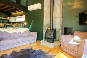 A seating area at Black Mamba House