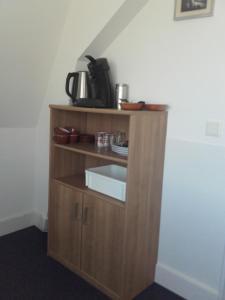 Een keuken of kitchenette bij Kamerverhuur Mossels&Meer