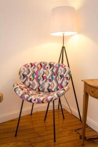 A seating area at Casa Portas de Portugal – Comfort in Lagos