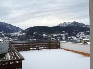 Villa Ester during the winter