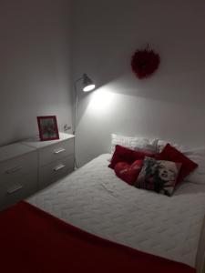 Łóżko lub łóżka w pokoju w obiekcie Apartament Dana