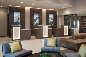 The lobby or reception area at Residence Inn by Marriott Boulder Canyon Boulevard