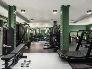The fitness center and/or fitness facilities at The Langham London