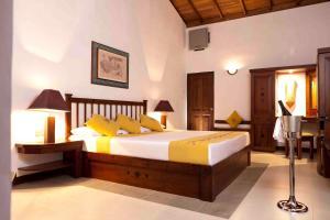Un ou plusieurs lits dans un hébergement de l'établissement Amaya Lake Dambulla