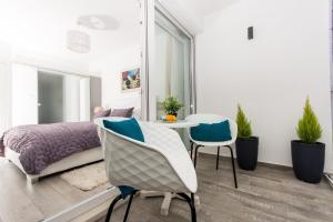 Zona de estar de Adriatic Blue View