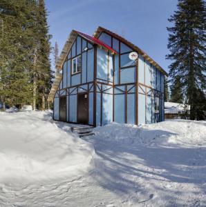 Гостевой Дом Заповедный Лес зимой