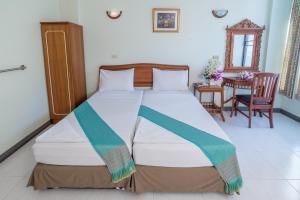 Cama o camas de una habitación en New Siam II