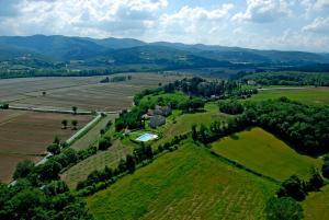 Vista aerea di Agriturismo Il Sasso
