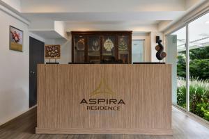 The lobby or reception area at Aspira Residence Ruamrudee